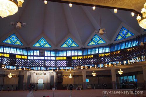 マレーシア国立モスクの行き方や営業時間、服装や注意点など【クアラルンプール】