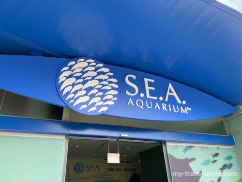 【シンガポール】シーアクアリウム水族館の割引チケット・行き方