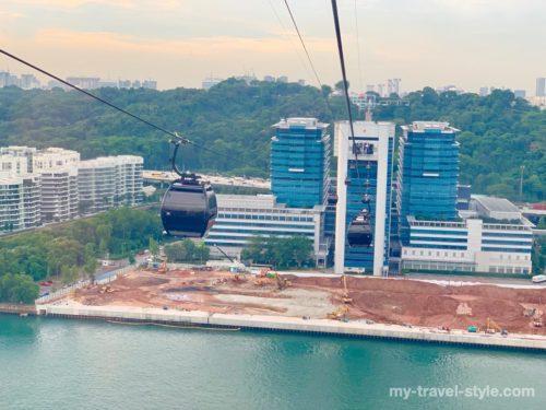 【セントーサ島】シンガポールケーブルカーの割引チケット料金・行き方