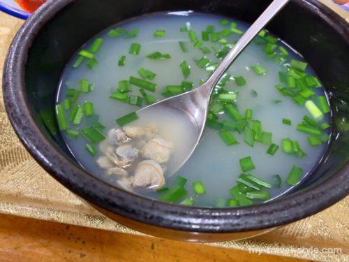 ソムジンガンのシジミスープ定食が美味しすぎる【韓国釜山南浦洞】
