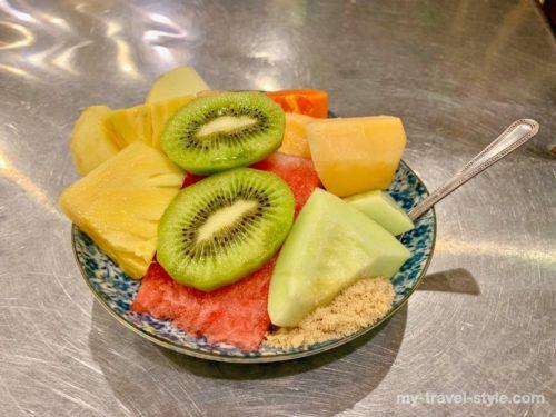 阿田水果店は新鮮カットフルーツ盛りが美味しい人気店【台南グルメ】